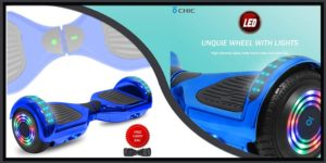 DOC Electric Hoverboard with LED Light Alien Wheels-min