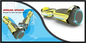 Hover heart Two-Wheel Self-Balancing Electric Scooter-min