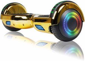 Hoverheart F Chrome Gold Model Hoverboard Reviews