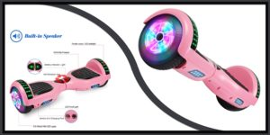 LIEAGLE 6.5 inches Pink Hoverboard