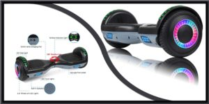 Veeko Self-balancing Hoverboard Budget control users-min