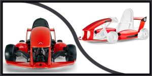 Actev Arrow  DIY Electric Go kart-min