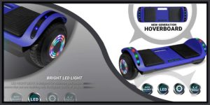 BESTON Dual Motor Red Hoverboard-min