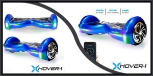 Hover-1 Electric Baby Blue Hoverboard-min