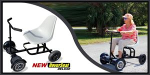 HoverSeat Deluxe with Handle bar and Molded seat.-min