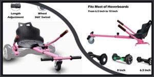 Hoverboard Adjustable Seat Go HoverKart-min