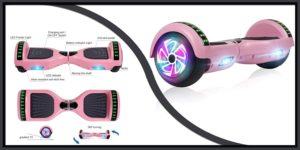 JOLEGE Bluetooth Self Balance HoverBoard-min
