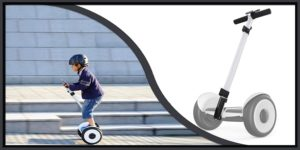 Segway Hoverboard with handle -min