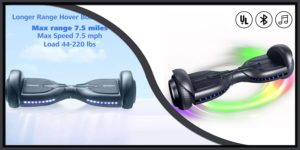 Tomoloo Q3 Bluetooth Hoverboard-min