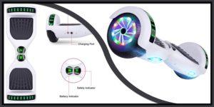 UNI-SUN White Hoverboard-min