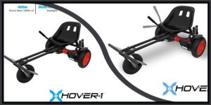 Hover-1 Chrome Electric Hoverboard Go Kart Attachment-min