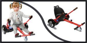 Qoovi Cool Mini Hoverboard Kart-min