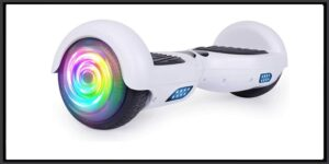 "SISIGAD Hoverboard, 6.5"" Two-Wheel Self Balancing Hoverboard, Smart Hover Board for Kids Gift"