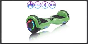 "SISIGAD Hoverboard Scooter 6.5"" Two-Wheel Self Balancing Hoverboard with Bluetooth Speaker for Adult & Kids"