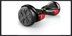 TOMOLOO Electric Hoverboard with Bluetooth Speaker UL2272 Certified- Two-Wheel Hover Boards