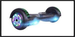 UNI-SUN Hoverboard for Kids, Electric Scooter, with LED Lights for Adults, UL 2272 Certified Hover Board