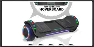 BESTON Dual Motor Red Hoverboard