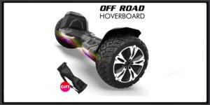 Gyroshoes Hoverboard - Warrior 8.5 inch Off Road and Led Lights,Self Balancing Hoverboards UL2272 Certified