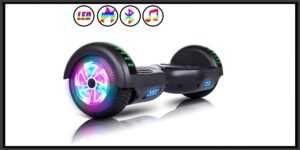 JOLEGE Hoverboard, 6.5 Two-Wheel Self Balancing Hoverboards - LED Light Wheel Scooter for Kids-min