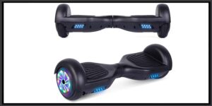 SISIGAD Hoverboard, 6.5 Two-Wheel Self Balancing Hoverboard with Bluetooth Speaker anD UL 2272 Certified-min