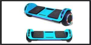 TPS Kids Hoverboard Electric Self Balancing Scooter with LED Lights and Wireless Speaker UL2272 Certified-min