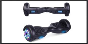 UNI-SUN Hoverboard for Kids, 6.5 Self Balancing Hoverboard with Bluetooth and LED Lights, Bluetooth Hover Board-min